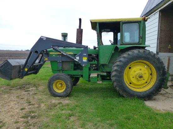 John Deere 5020 Diesel Row Crop Tractor