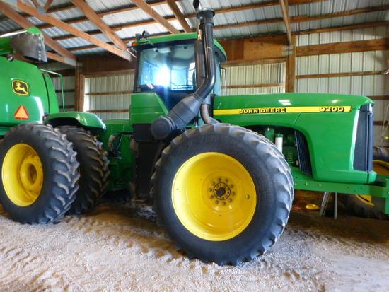 John Deere 9200 4wd Tractor