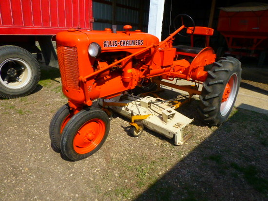 AC C Tractor