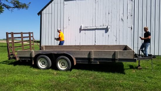 Branson 16 ft. Car trailer w/ Ramps