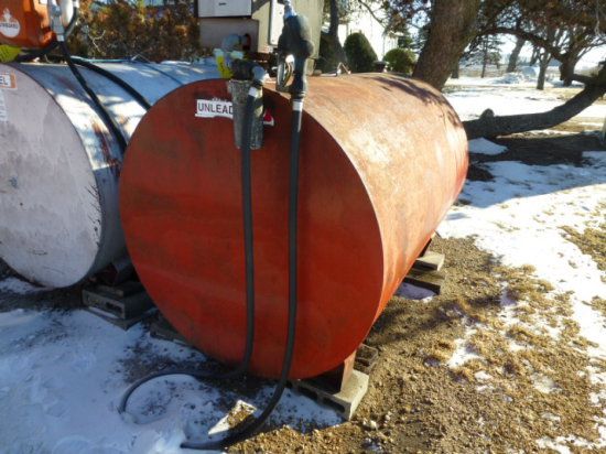 500 GAL. GAS BARREL