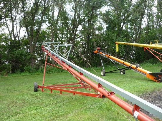 "Sudenga 6""x61' Auger w/7 1/2 hp. Single Phase"