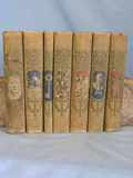 1902 Young Folks Library 7 Volumes