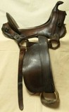 C. 1917 Military skeleton rig packers saddle
