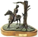 Bronze sculpture entitled