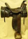 Round skirt, 8 string Saddle