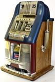 C. 1940's Mills 25 cent High Top slop machine