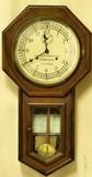 Antique Seth Thomas Santa Fe Railway Depot Clock
