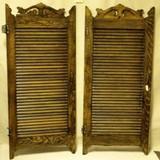 19th century pair of swinging saloon doors