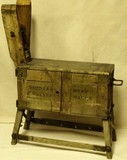 US Military traveling saddlers tool chest
