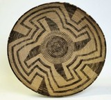 Papago C. 1900-1920 coiled basketry bowl