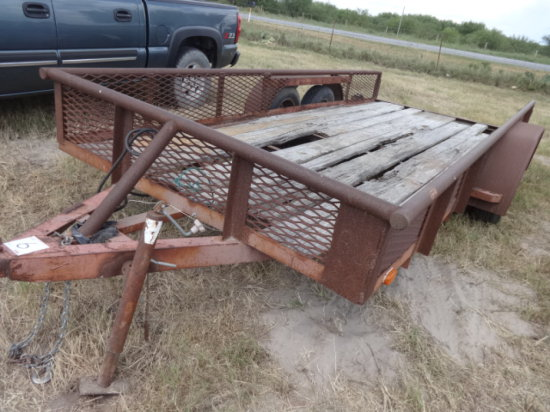 16'BUMPER PULL TRAILER TANDEM AXLE, BILL OF SALE ONLY!!!