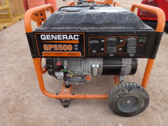 GENERATOR,GP500,LIKE NEW MILES/HRS:.9 HRS