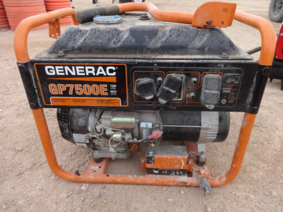 GP 7500E GENERATOR MILES/HRS:97