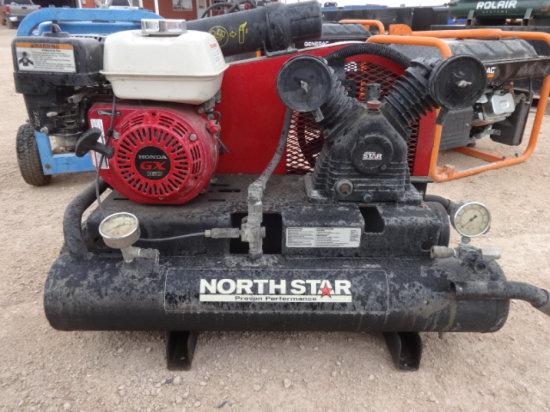 NORTH STAR GAS AIR COMPRESSOR GX 160 HONDA