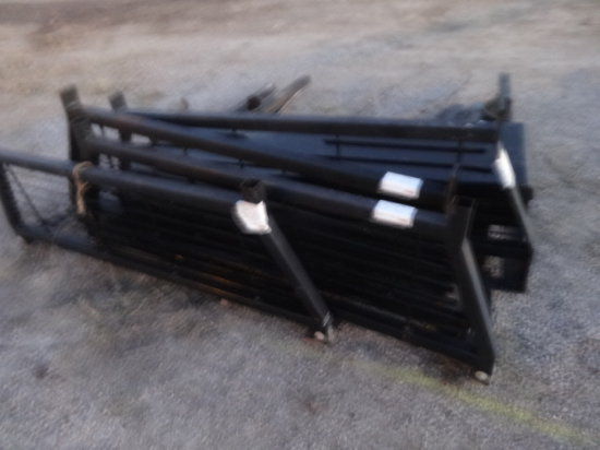 METAL TRUCK RACK WITH TOOL BOX