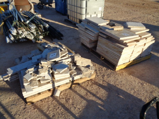 ASSORTED LIMESTONE TILES