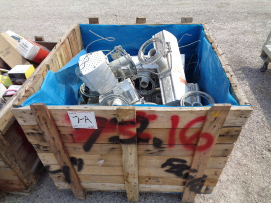 CRATE OF LIGHT BALLASTS