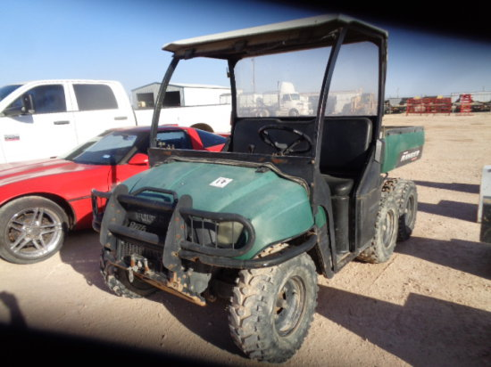 POLARIS RANGER 6X6,TILT BED **BILL OF SALE  ONLY, NO TITLE** MILES/HRS: 992