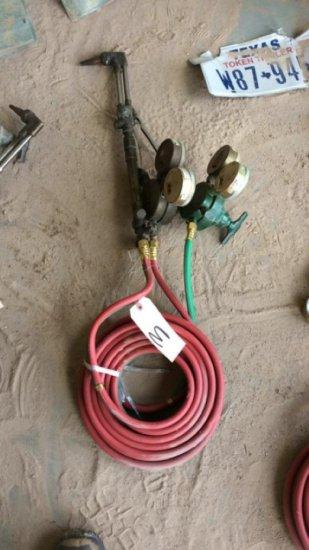 Oxygen & Acetylene Cutting Torch