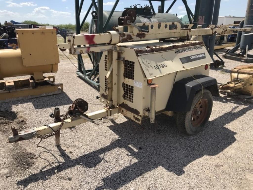 Lot: # 10196 2001 Ingersoll Rand Generator Sn # 318388 Non