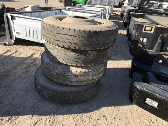 Wheel And Tire Combo 11r24.5