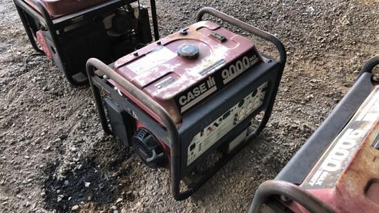 Generator Case 9000 R7100DP N/A 499Hrs Gas Powered 420cc Eng., 7100 Watts,