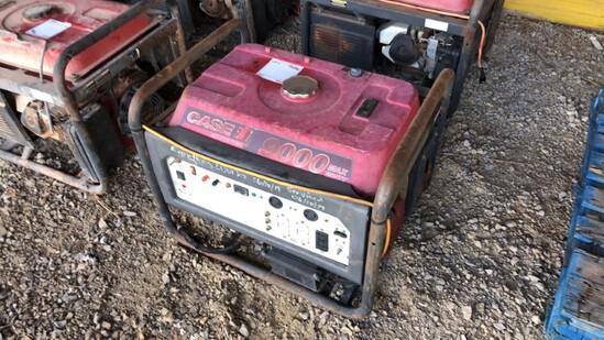 Generator Case 9000 R7100DP N/A 501Hrs Gas Powered 420cc Eng., 7100 Watts,