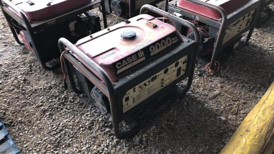 Generator Case 9000 R7100DP N/A 620Hrs Gas Powered 420cc Eng., 7100 Watts,