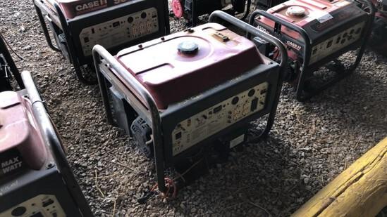 Generator Case 9000 R7100DP N/A 511Hrs Gas Powered 420cc Eng., 7100 Watts,
