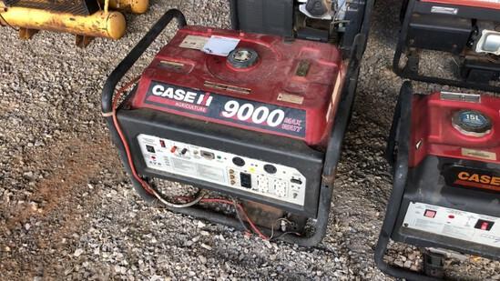 Generator Case 9000 R7100DP N/A 471Hrs Gas Powered 420cc Eng., 7100 Watts,