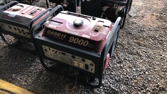 Generator Case 9000 R7100DP N/A 401Hrs Gas Powered 420cc Eng., 7100 Watts,