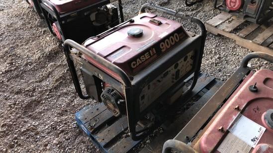 Generator Case 9000 R7100DP N/A 913Hrs Gas Powered 420cc Eng., 7100 Watts,