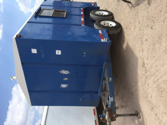 BLUE ENCLOSED TANDEM AXLE - BILL OF SALE ONLY