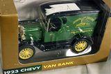 Ertl John Deere 1923 Chevy Van Bank