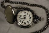 Westclox Railroad Train Pocket Watch