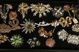 CHOICE Vintage Costume Broaches -Marked & Unmarked