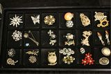 CHOICE: Vintage Broaches Marked & Unmarked