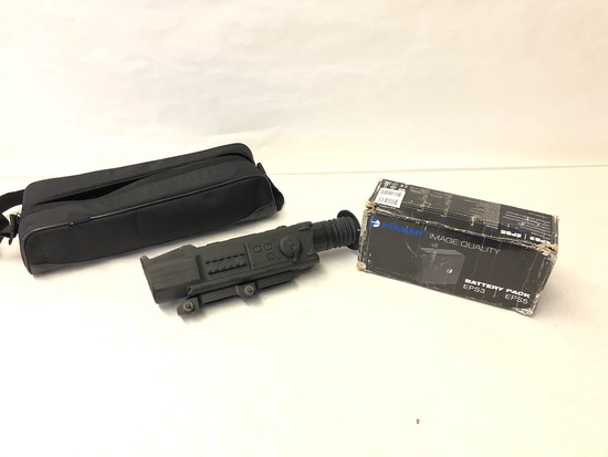 Pulsar N750 night vision scope with battery pack