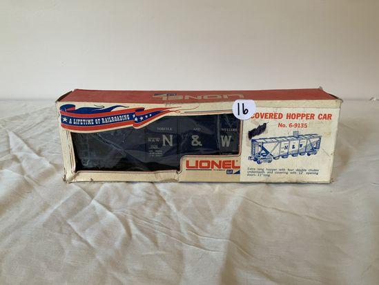 Lionel N&W Covered Hopper Car