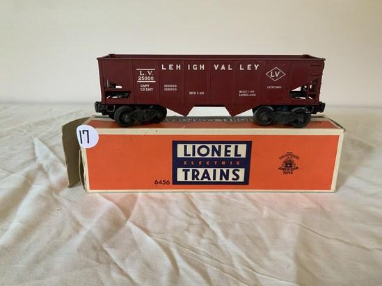 Lionel Lehigh Valley Hopper Car