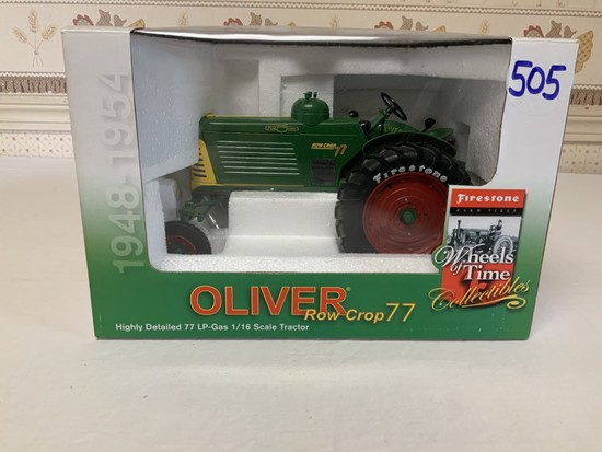 Oliver Row Crop 77 LP-Gas 1/16th Scale