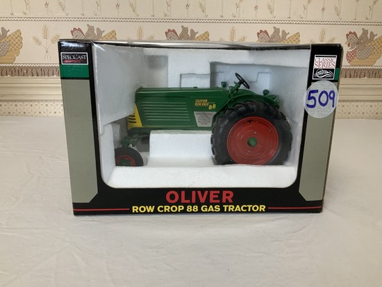Oliver Row Crop 88 Gas 1/16th Scale