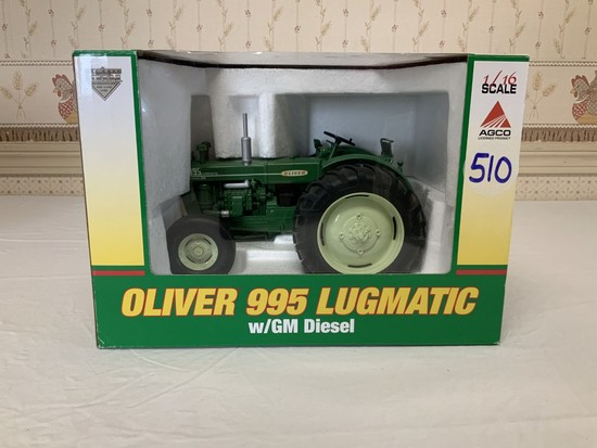 Oliver 995 Lugmatic w/ GM Diesel 1/16th Scale