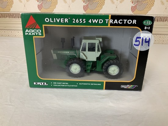 Oliver 2655 4wd Tractor 1/32nd Scale