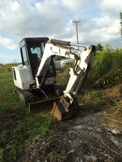 1999 BOBCAT 331 Mini Excavator w/CHA, 12in. & 24in. buckets & on rubber tracts (SN 512917768)