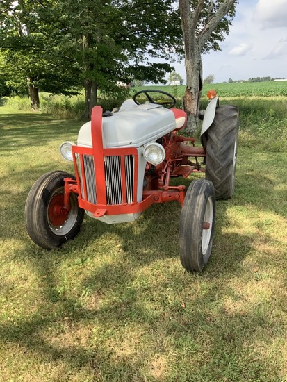 Ford 8N- '48 Front MTD Distributer with 9N Front Tires- Good
