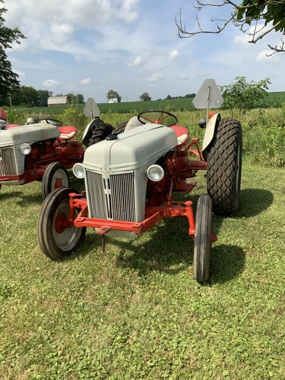 8N Ford- '52 with side mtd distributor- Converted to a 12V- Turf tires rear- Good Condition
