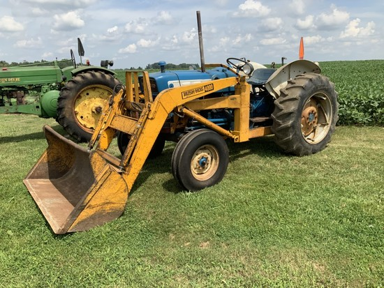 Ford 4000-2558 Hours- gas utility