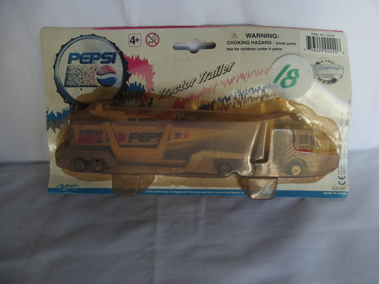 Pepsi Tractor Trailer w/ Boat
